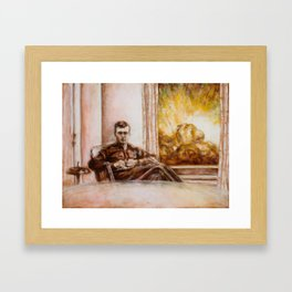 I Want You to Watch Framed Art Print