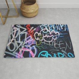 Graffiti Writing Rug