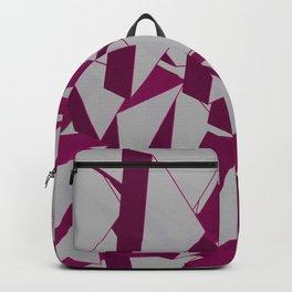 3D Broken Glass IV Backpack