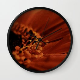 Warm Pettles Wall Clock