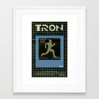 tron Framed Art Prints featuring Tron by Mark Welser