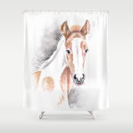 Ginger Horsi Shower Curtain