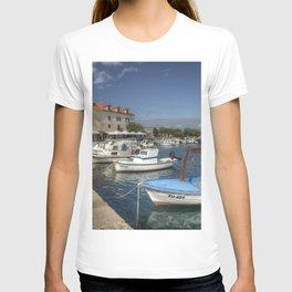 Supetar Boat reflections T-shirt