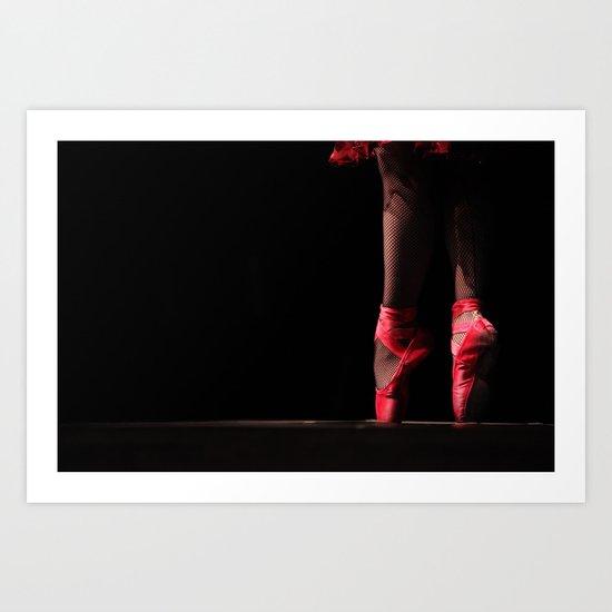 Slippers Art Print