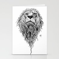 courage Stationery Cards featuring courage. by elementofthemind