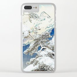 The Snows at Kenn Clear iPhone Case
