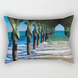 Wrightsville Beach Pier North Carolina Rectangular Pillow