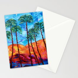 California Palm Trees Stationery Cards