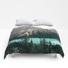 Peyto Lake II Comforters
