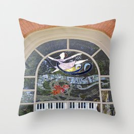 Dancing and Leaping Throw Pillow
