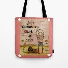 Country Girl at Heart Tote Bag