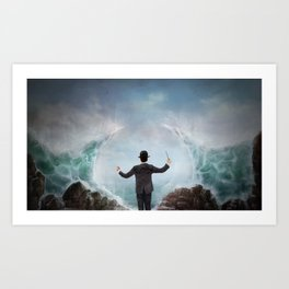 The Sea Conductor Art Print