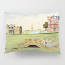 St Andrews Golf Course 18th Hole Pillow Sham
