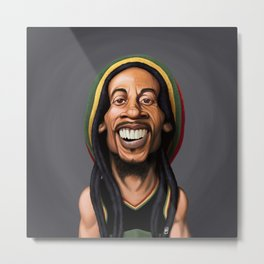 Celebrity Sunday - Robert Nesta Marley Metal Print