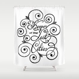 Keeper of the Lost Cities Shower Curtain