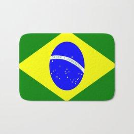 Flag of Brazil Bath Mat