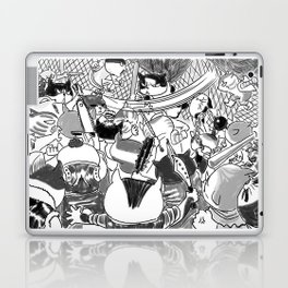 STREET CAT FIGHTER Laptop & iPad Skin
