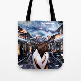 Moon Kissed Tote Bag