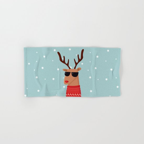 Merry Christmas Dude Hand & Bath Towel