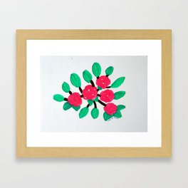 Roses IV Framed Art Print