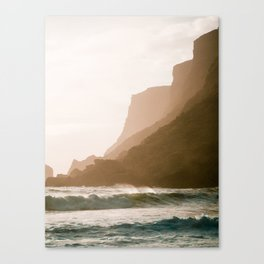 Vik, Iceland - Golden Hour Canvas Print