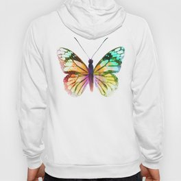 Yellow Butterfly Hoody
