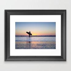 Surfs Up... Brah Framed Art Print