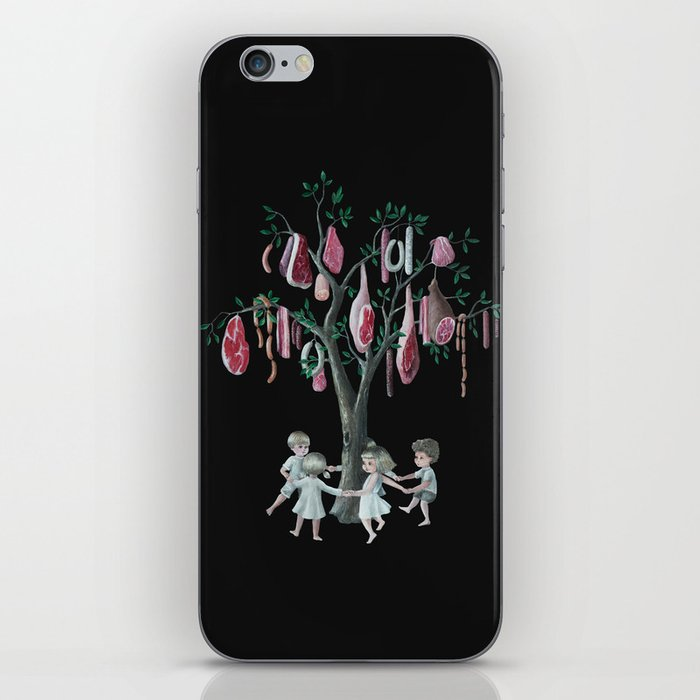 The Meat Tree iPhone Skin