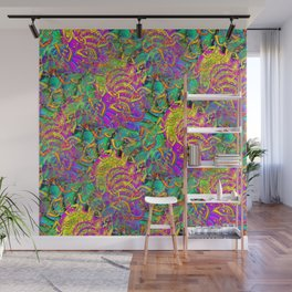Like Candy Psychedelic 3D Abstract Wall Mural