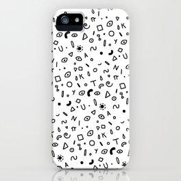Random space- Tanuki iPhone Case