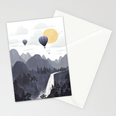 Roundscape II Stationery Cards