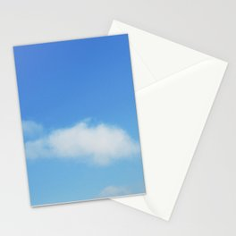 Snow and clouds in Iceland Stationery Cards