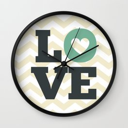 Love , nursery decor , child gift , birthday gift, Wall Clock