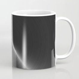 Metallic Bright Polished Steel Coffee Mug