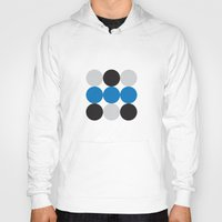 dots Hoodies featuring Dots by Alexander Studios