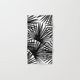 Tropical Fan Palm Leaves #2 #tropical #decor #art #society6 Hand & Bath Towel