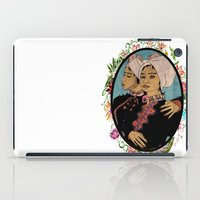 twins iPad Cases featuring Twins by Nina Twin