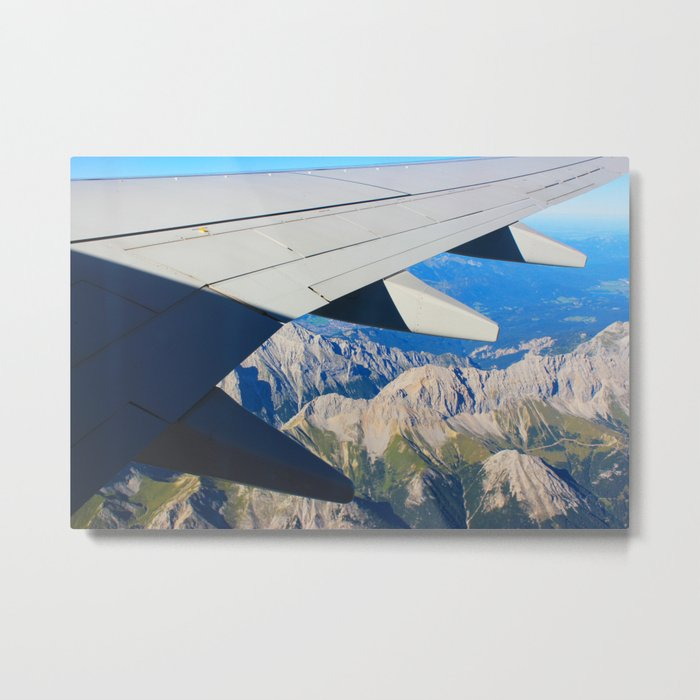 Airplane Wing Metal Print