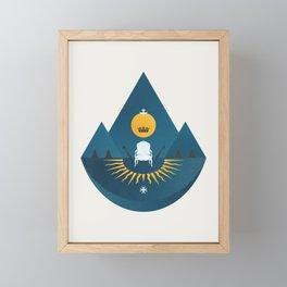 The Sun King Framed Mini Art Print