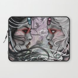The duality will kill her Laptop Sleeve