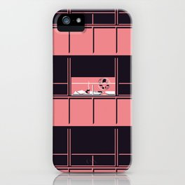 Baumeister iPhone Case