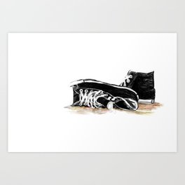 new shoes for old souls Art Print