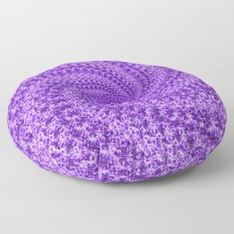 Molecularspiral Floor Pillow