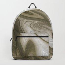 Pastel Brown & Beige Backpack