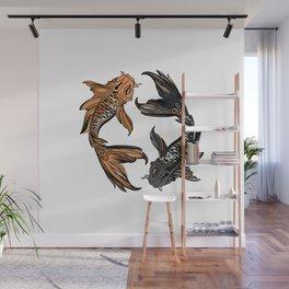 Koi Fish Wall Mural