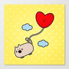 Kimmi's Love is 0n Cloud 9 Canvas Print