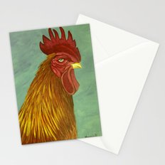 Rooster portrait Stationery Cards