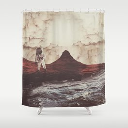 TERRAFORMING MARS Shower Curtain