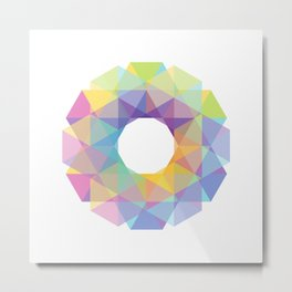 Fig. 036 Colorful Circle Metal Print