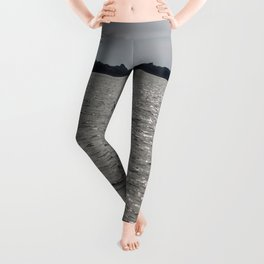 lonely sailboat Leggings